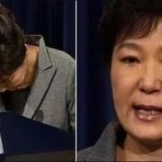 有人说朴槿惠哭了,是真的吗?