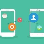 怎样把手机内容转到另一个手机上?