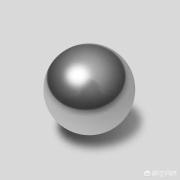 如果一个绝对圆的球体放在一个绝对平的平面上,那么这两个物体的接触面是不是无限小?
