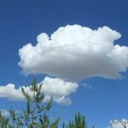 一朵云重量500吨,为何不会掉下来?