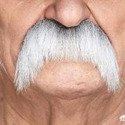 55岁的男人有的胡子白了有的还全是黑的,怎么回事?