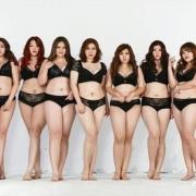 模特的身材和气质让你选择你会偏向哪一个?