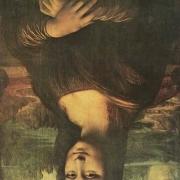 为什么有人说《蒙娜丽莎》这部作品倒过来看很恐怖?