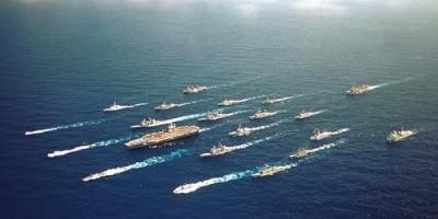 一个美国核动力航母战斗群能不能击败亚洲绝大多数国家的海军?
