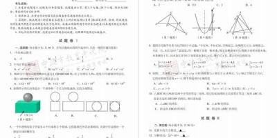 中考选择填空就错一个是什么水平?(数学)?