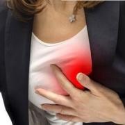 左胸口隐隐作痛是什么原因?