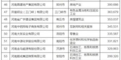 河南最牛的10家企业,都是哪些?