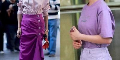 优雅紫色怎么配色?