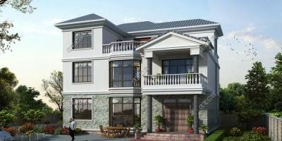 面宽14米,进深13米的地方,怎样建成三层别墅?有哪些设计方案?