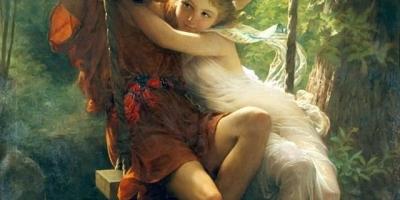 你欣赏过最有韵味的女人油画是哪一幅?