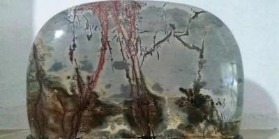 奇石是大自然所产天然艺术品,它很美,你收藏吗?能晒晒吗?