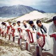 二战美军有多少士兵阵亡啊?