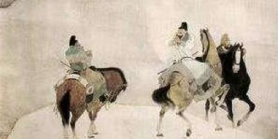 李白、杜甫和高适因为什么而绝交?