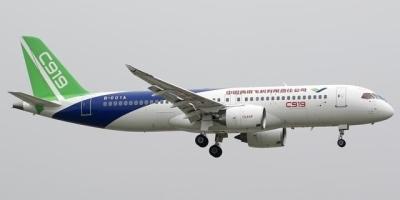 中国的飞机型号C919正式投入运营没?