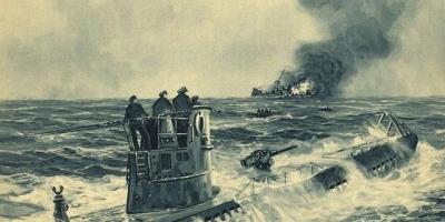 二战时期潜艇都在甲板上装备舰炮,潜艇下潜时舰炮是怎么处理的,如何防止海水侵蚀?