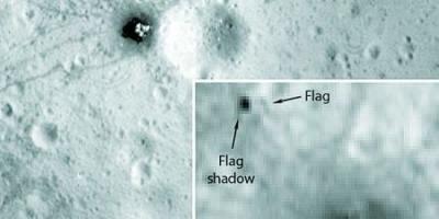 1969年,宇航员登月时插在月球表面上的国旗还在月球上吗?