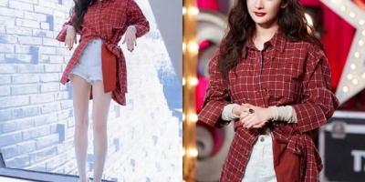 红色的衬衫应该搭配什么颜色的裙子或裤子?