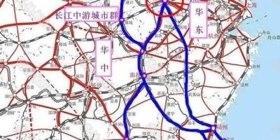 在中国现有的高铁线路中,合肥高铁处于什么地位?
