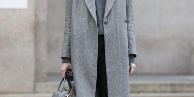 灰色大衣搭配什么色裤子好看?