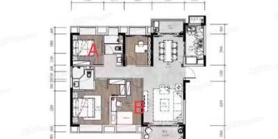 建筑面积130平四房会不会挤,感觉怎么样呢?