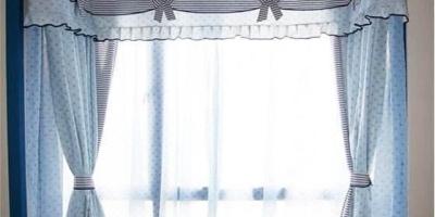 内飘窗窗帘怎么安装?