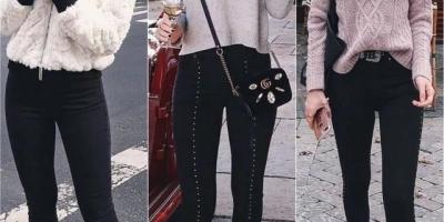 黑色裤子怎么搭配显得更时髦?有哪些需要注意的问题?