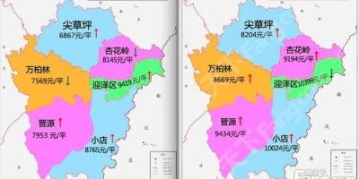 太原六个市辖区,那个区更宜居?