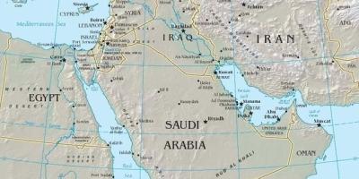 中东地区包括哪些洲的国家,为什么叫中东?