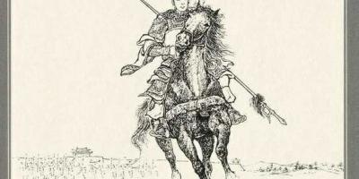 """三国演义中的赤兔马除了""""人中吕布""""与关羽,还有谁能更添神勇?"""