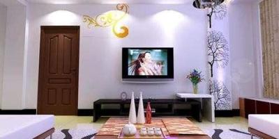 客厅装修如何打造电视墙?