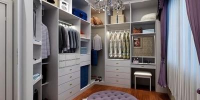 定制衣柜实木颗粒板的2个衣柜要多少钱?