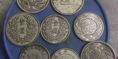 有没有懂的,捡了8个钱币,但是不知道怎么辨别真假?