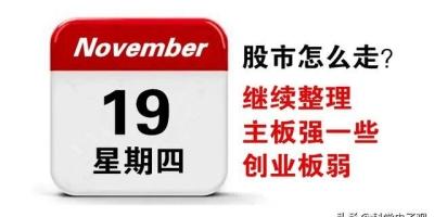 今日11月18日大盘上涨乏力,明日周四行情将会怎么走?