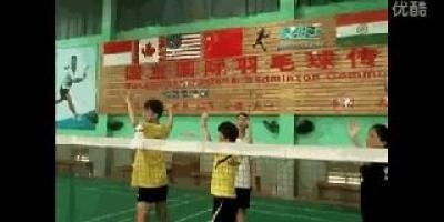 平时在家怎样练羽毛球?
