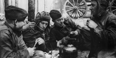 第二次世界大战中苏联红军的伙食是怎样的?
