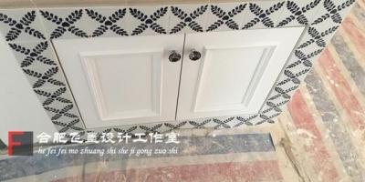 砖砌橱柜,门应该怎么装?