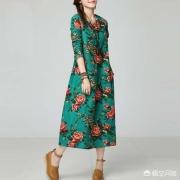 民族风棉麻连衣裙配什么鞋子比较好?