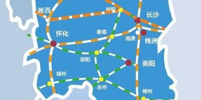 湖南还有哪些县城没有通铁路?