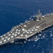 如果航空母舰在远洋作战中被击沉,那天空中的战斗机该怎么办?