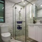 卫生间较小,如何把卫生间做成干湿分离?