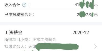 在天津税前年收入20万是个什么收入水平?