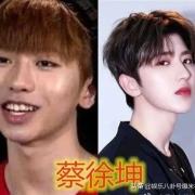 肖战和蔡徐坤谁比较帅?