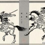 关羽秒杀颜良文丑,赵云秒杀高览,河北四庭柱是否徒有虚名?