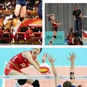 中国女排现役国家队球员,扣球高度排名前三位的边攻手是谁?