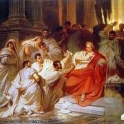 """无比传奇的""""凯撒大帝"""",死前被捅了23刀,为何结局如此窝囊?"""