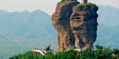 世界未解之谜之河北山峰上的神秘古塔,如何建成至今无法解释吗?