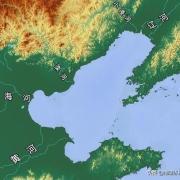 如果把辽东半岛和山东半岛造陆连起来,渤海有望变最大淡水湖吗?