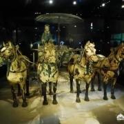 秦始皇兵马俑,两排俑之间的土堆是干什么的,为什么不挖掘?