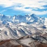 如果青藏高原突然变成青藏平原了,会是怎么样的情形?