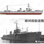 二战日军有多少驱逐舰?